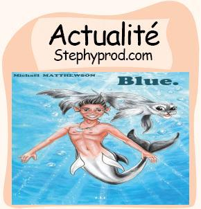 Actualité Blue par Michael MATTHEWSON pour les enfants et les bébés.