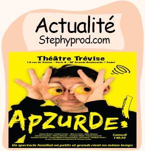 Actualité Cabaret familial APZURDE ! pour les enfants et les bébés.