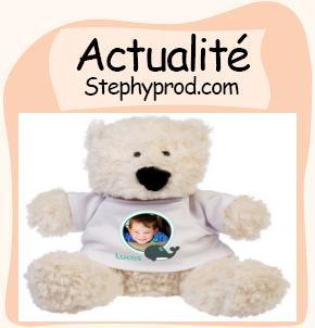 Actualité Cadeau de naissance, une peluche personnalisée pour les enfants et les bébés.