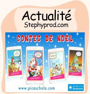 Actualité Contes de Noël, les contes musicaux pour enfants de Picaschola pour les enfants et les bébés.