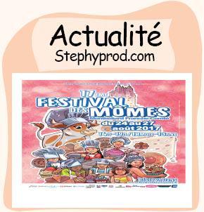 Actualité Festival des mômes pour les enfants et les bébés.