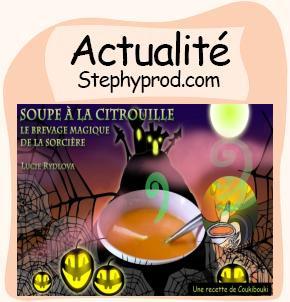 Actualité Halloween La Soupe de la Sorcière  pour les enfants et les bébés.