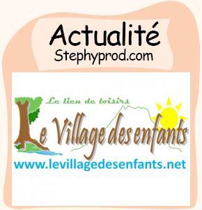 Actualité Le parc d'animation le village des enfants pour les enfants et les bébés.