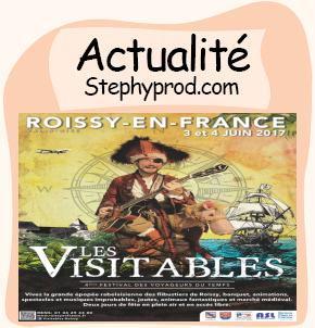 Actualité Les Visitables 2017, 4 éme édition à Roissy en France pour les enfants et les bébés.
