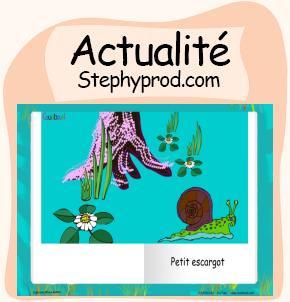 Actualité Livre audio gratuit de la comptine Petit Escargot pour les enfants et les bébés.