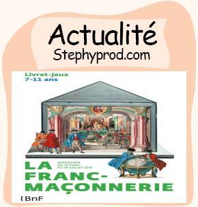 Actualité Livret jeux, la franc maçonnerie à la BNF pour les enfants et les bébés.