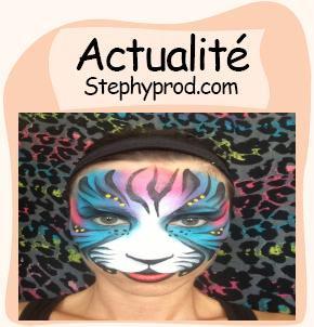 Actualité Maquilleuse artistique pour enfants anniversaires pour les enfants et les bébés.
