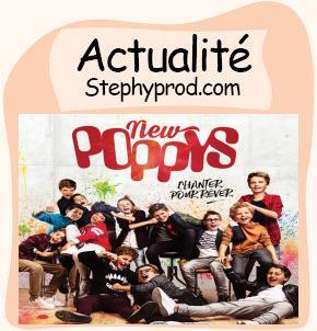 Actualité Les New Poppys sortent leur premier album le 25 novembre ! pour les enfants et les bébés.