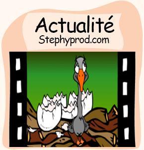 Actualité Plus de 200 dessins animés gratuits sur Stéphyprod pour les enfants et les bébés.