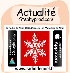 Actualité Radio Noël - La nouvelle Appli pour Tablette et smartphone pour les enfants et les bébés.