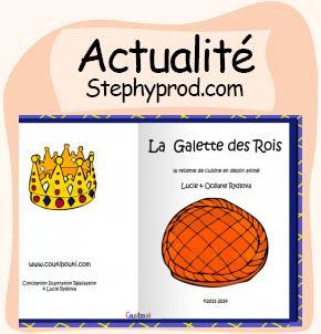 Actualité Recette Galette des Rois en vidéo pour les enfants et les bébés.