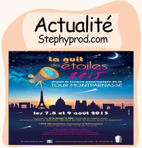 Actualité Sortie enfant à Paris, La Nuit des Etoiles à la Tour Montparnasse pour les enfants et les bébés.