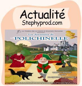 Actualité Spectacle Les Aventures de Polichinelle pour les enfants et les bébés.