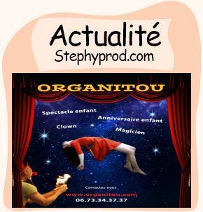 Actualité Spectacle de Clown et de Magicien en Finistere Bretagne pour les enfants et les bébés.