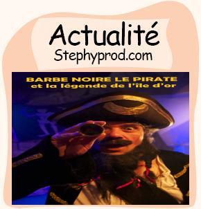 Actualité Barbe Noire le pirate et la légende de l'île d'or à Paris pour les enfants et les bébés.
