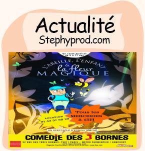Actualité Spectacle enfant à Paris, un conte rigolo écolo musical sur les abeilles pour les enfants et les bébés.
