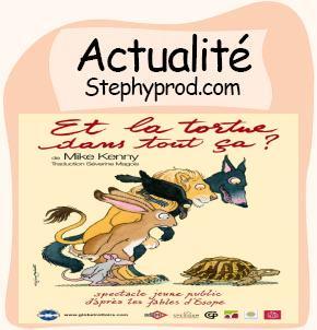 Actualité Spectacle pour enfants à Paris pendant les vacances de février Et la tortue dans tout ça ? pour les enfants et les bébés.