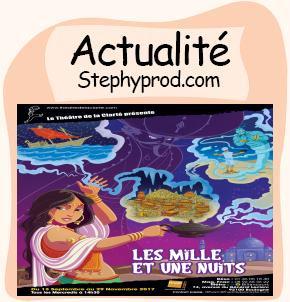 Actualité Spectacle jeune public Les Mille et une Nuits pour les enfants et les bébés.
