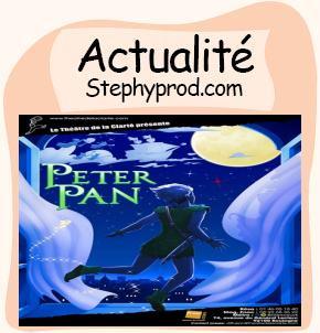 Actualité Spectacle Peter Pan pour les enfants et les bébés.