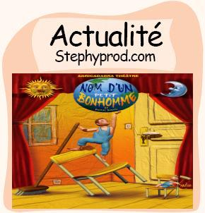 Actualité Théâtre enfant à Paris sur la péniche Antipode pour les enfants et les bébés.