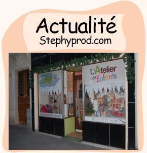 Actualité Les vacances de Noël à l'atelier des enfant, 75013 Paris pour les enfants et les bébés.