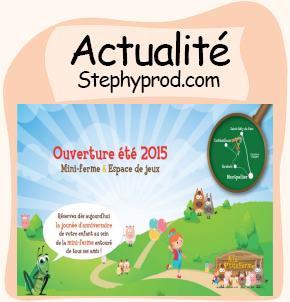 Actualité Visite d'une mini ferme dans l'Hérault (34) pour les enfants et les bébés.