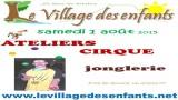 Les animations aux village des enfants