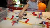 L'atelier des enfants, la semaine, les soirs d'école