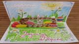 Carte pop-up Pâques à fabriquer soi même