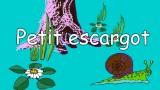 Dessin animé de la comptine Petit Escargot