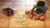 Jeu de construction en bois pour les petits créatifs, cloze