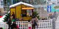 Noël, charléty sur neige, un chalet à Paris pour les fêtes de Noël.