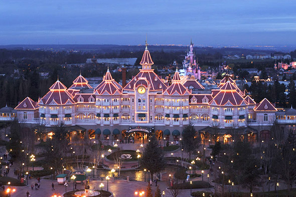 Disneyland Paris entre gratuite anniversaire