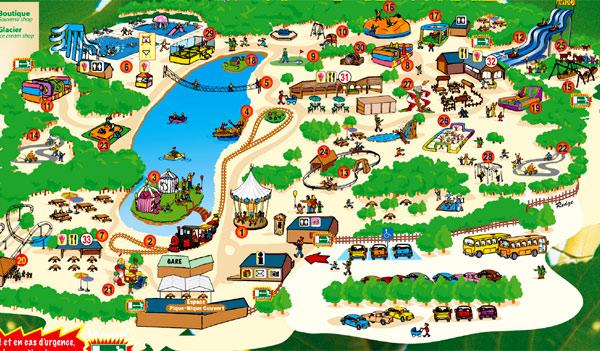 Sorties enfants parc attraction activit s enfants sorties for Plan dessin