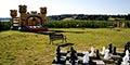 Sortie Bretagne soleil, sortir avec les enfants quand il fait beau au labyrinthe du corsaire à saint Malo.
