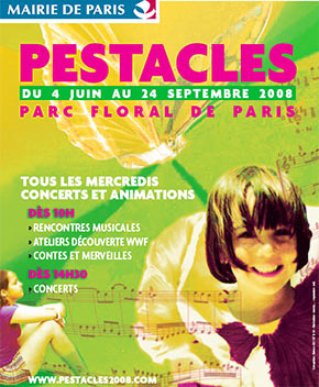 Le festival pour enfants. l'affiche et la programmation des Spectacles jeune public du festival.