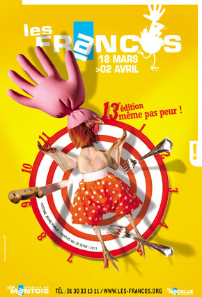 Festival Les Francos, spectacles pour enfants du Festival Les Francos 2011.