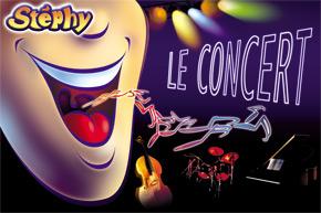 spectacles pour enfants le concert de Stéphy