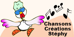 Chansons pour enfants créées par Stéphy.