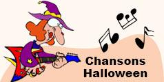 Chansons enfants pour Halloween.