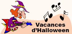 Activités enfants pour les vacances d'Halloween.