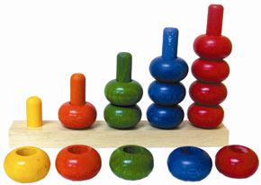 jouet en bois pour compter un jouet ducatif pour les b b s et les jeunes enfants. Black Bedroom Furniture Sets. Home Design Ideas