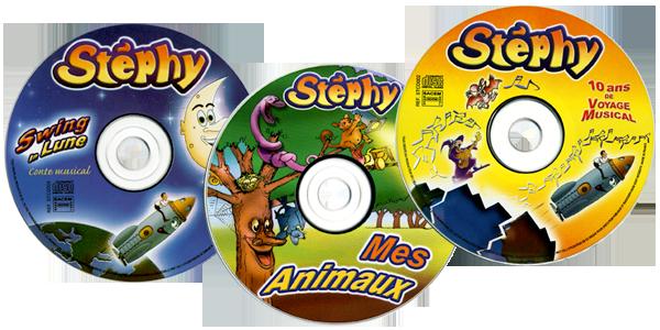 Cadeaux no l achetez 3 cd pour enfants de stephy 3 disques de chansons en pr - Vente cadeaux de noel ...