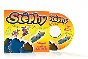 CD enfants, disques chansons et musiques de Stéphy. 14 chansons originales pour les enfants.