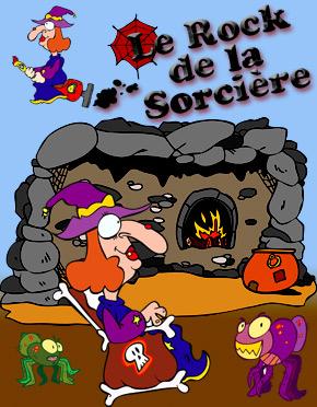 Spectacle pour enfants de Stéphy Le Rock de la Sorcière.