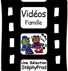 Vidéos Chansons. Sélection Stephyprod pour les enfants et la famille.