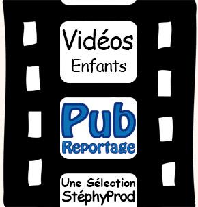 Vidéos Pub Musique. Sélection Stephyprod pour les enfants et la famille.