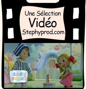 Vidéos Andy Pandy. Sélection Stephyprod pour les enfants et la famille.