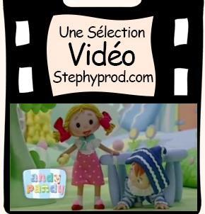 Vidéo Andy Pandy, Saison 1 épisode 1, Cache Cache pour les enfants et les bébés.