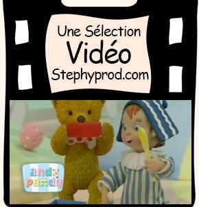Vidéo Andy Pandy, Andy Fait de la Musique, Saison 1 épisode 6 pour les enfants et les bébés.
